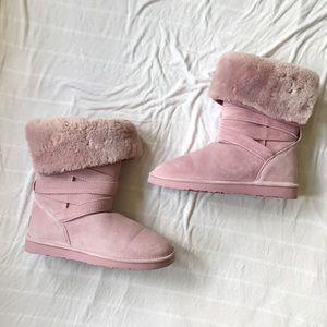 LAMO pink boots